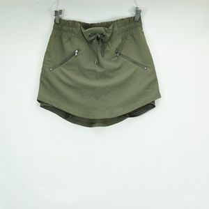 Champion Army Green Athletic Skort S